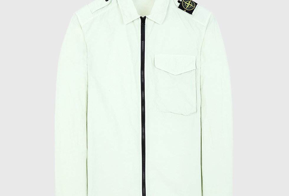Stone Island 10802 Naslan Light Overshirt Light Green