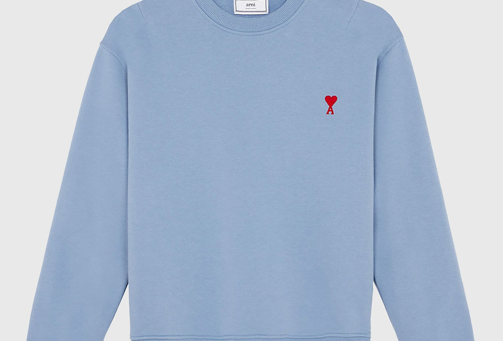 Ami de Coeur Sweatshirt Light Blue
