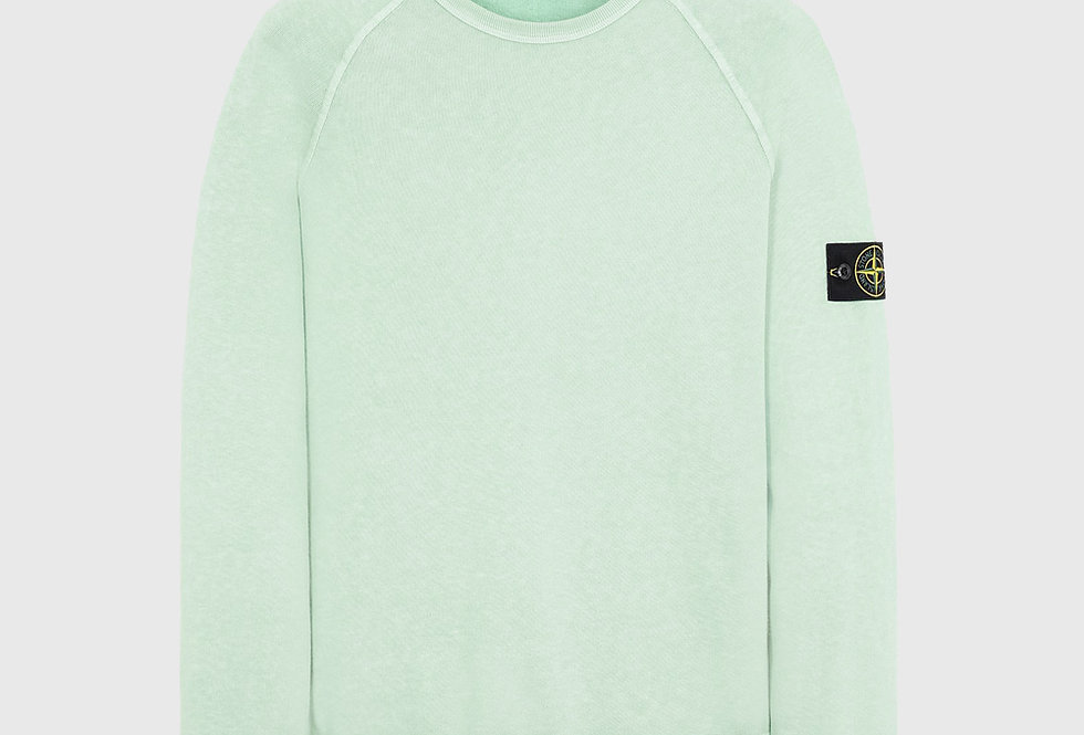 Stone Island 66060 T.CO+OLD Sweatshirt Light Green