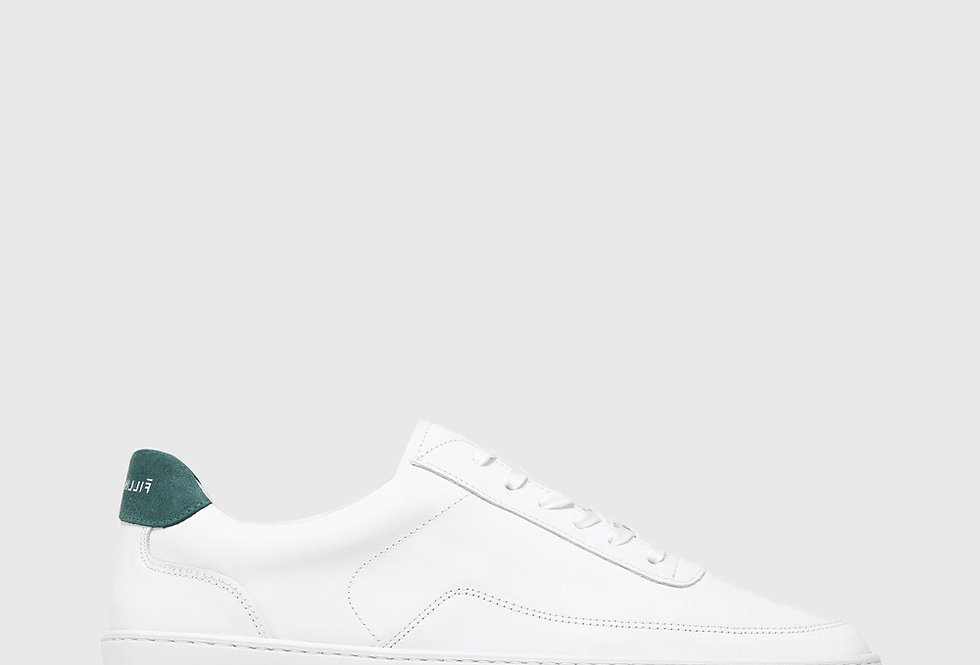 Filling Pieces Low Top Ripple Bianco Green