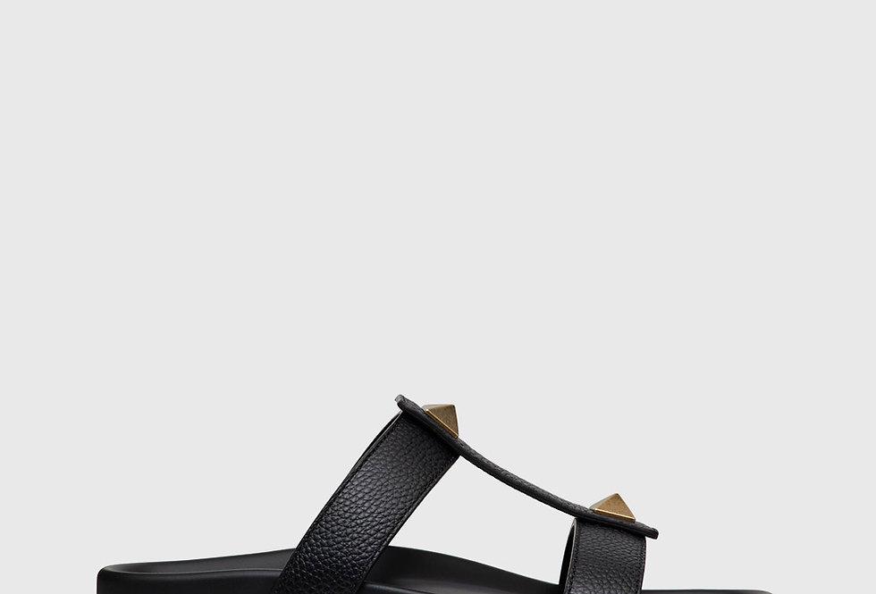 Valentino Roman Stud Slide Sandal