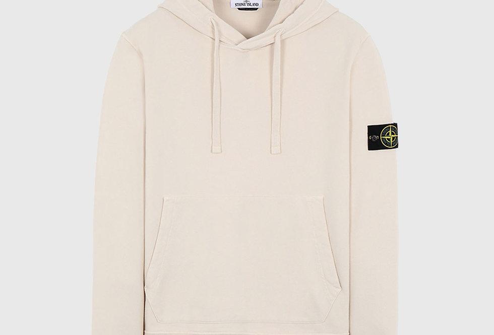 Stone Island 64151 Hooded Sweatshirt Beige