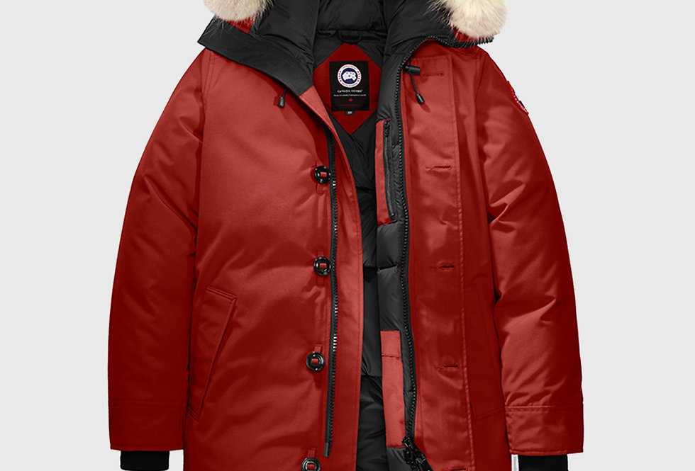 Canada Goose Chateau Parka Fusion Fit Red Maple