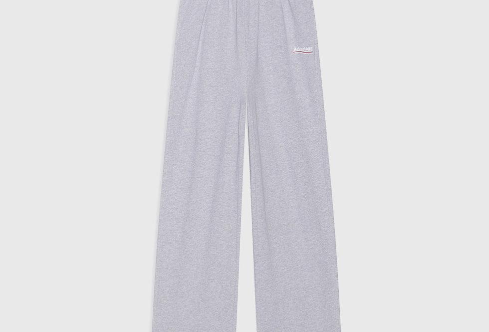 Balenciaga Political Campaign Jogging Pants Grey