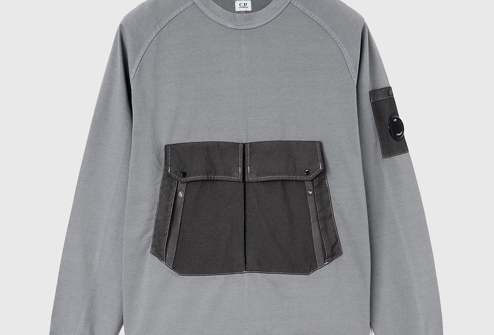 C.P. Company Heavy Jersey Lens Sweatshirt Gorgoyle