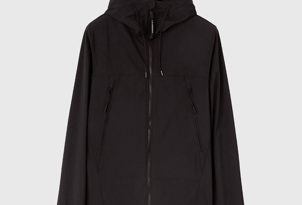 C.P. Company Soft Shell-R Medium Goggle Jacket Black
