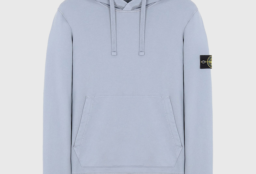 Stone Island 64151 Hooded Sweatshirt Pastel Blue