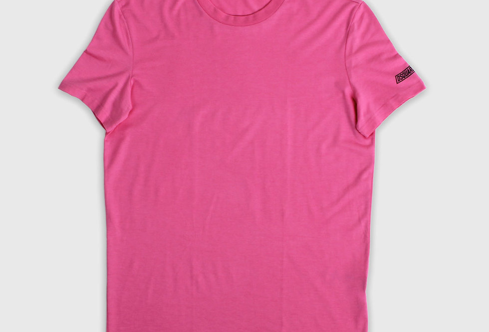Dsquared2 Round Neck T-shirt Pink