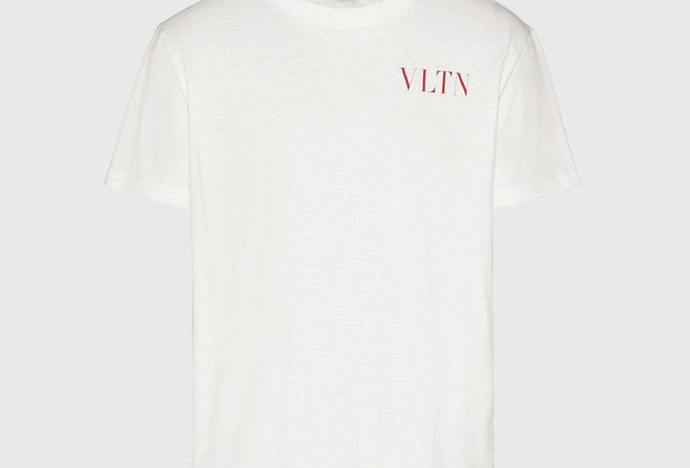 Valentino T-shirt VLTN Print White