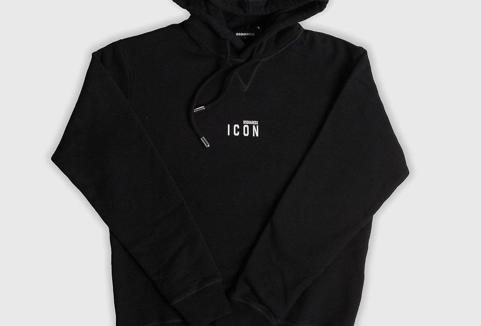 Dsquared2 Icon Hooded Sweatshirt Black