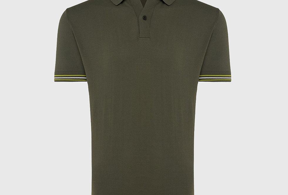 Genti Cool Dry Polo Green