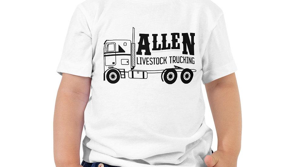"""Allen Trucking"" Toddler Short Sleeve Tee"