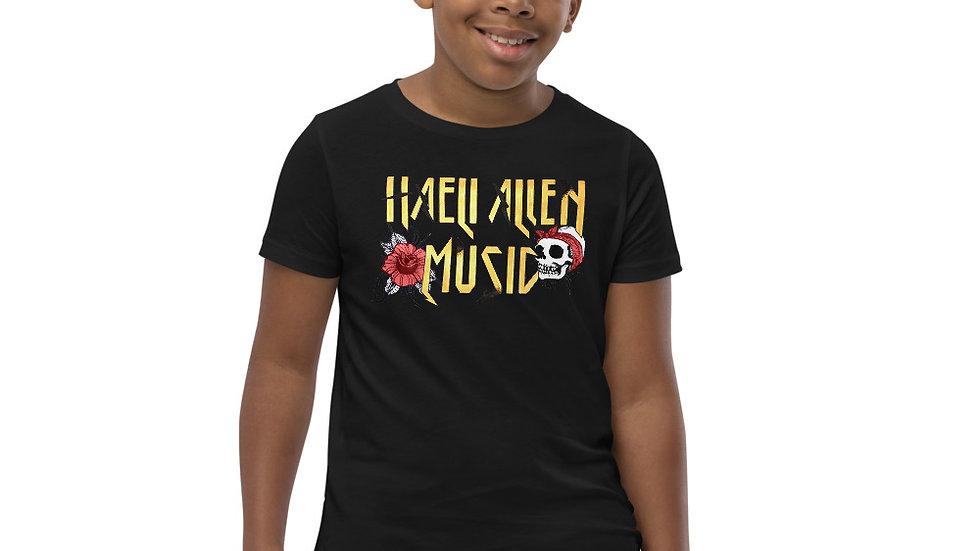 """Haeli Allen music"" Youth Short Sleeve T-Shirt"