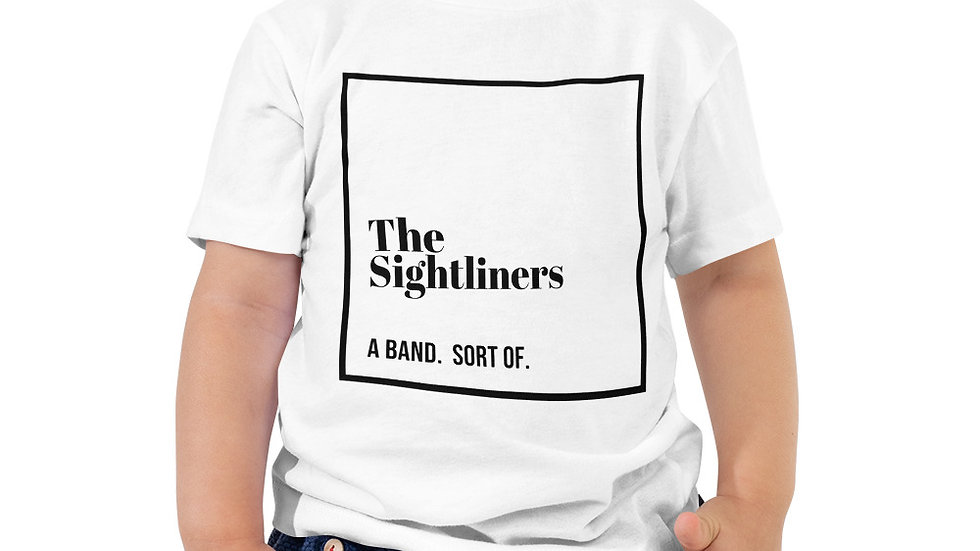 """""""the sightliners"""" Toddler Short Sleeve Tee"""
