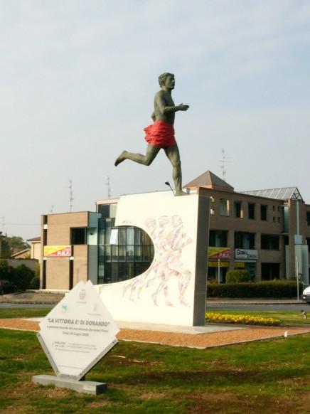 Памятник Д. Пиетри в Карпи