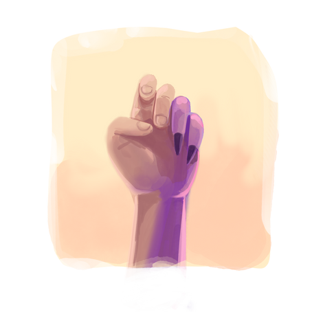 La mano de mi madre