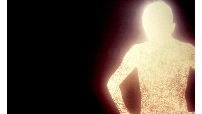 Glowing Figure