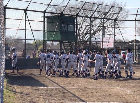 2020年 南関東支部春季大会(神奈川ブロック) 2回戦 惜敗