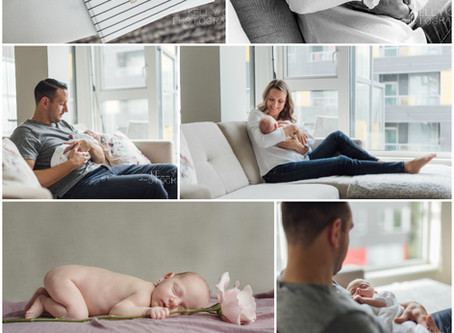 Newborn : Vancouver Newborn lifestyle session