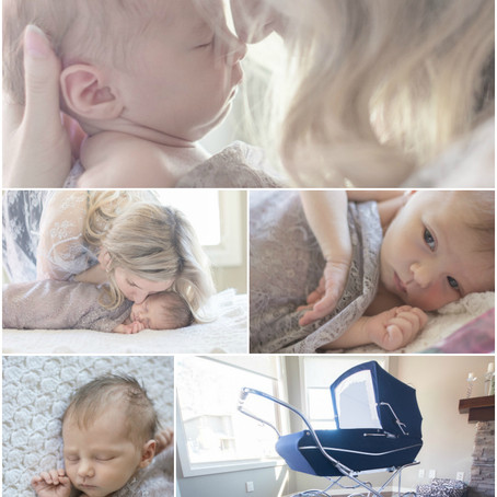 Newborn Photography: Capturing Light and Life with Paislee