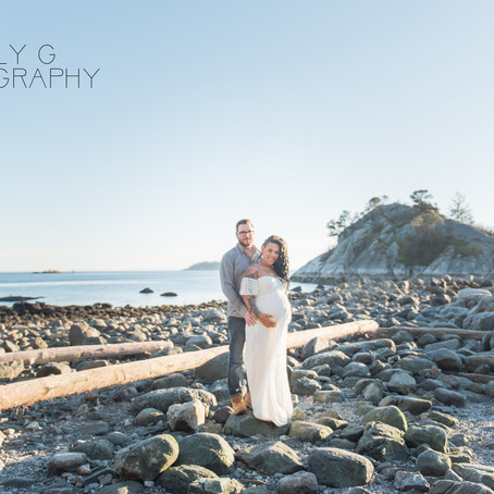 Stunning Whytecliff Park Maternity Session