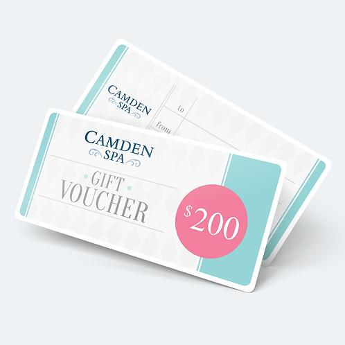 $200 E-Gift Certificate/ E-Gift Card