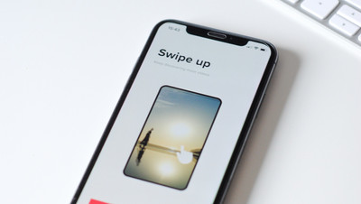Swipe up is the new swipe right!