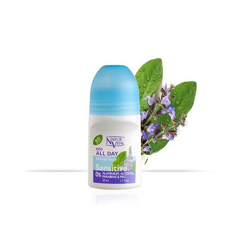 Natur Vital Roll On Deodorant Sage (50ml)