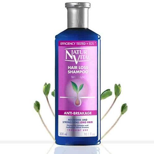 Natur Vital Hair Loss Shampoo Woman (Anti-Breakage)
