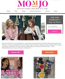 Momjo website