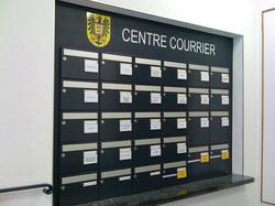 Autocollants des boites aux lettres de l'état civile Neuchâtel 2009
