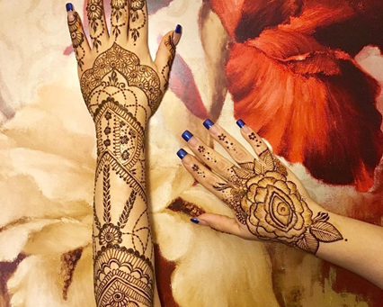 March in Henna Style!