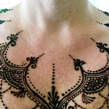Neck/Chest Henna