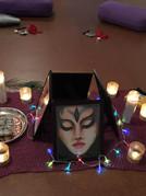 Goddess Durga Altar
