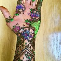 Henna and Glitter