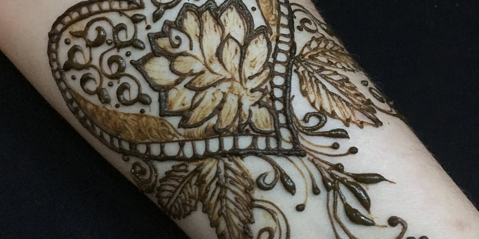 Henna at LV Heart Walk