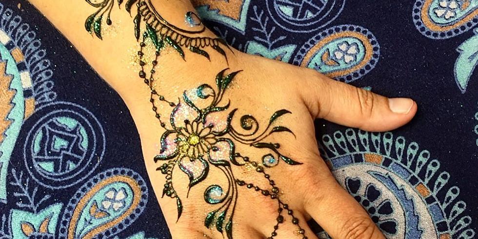 Henna at Block Party