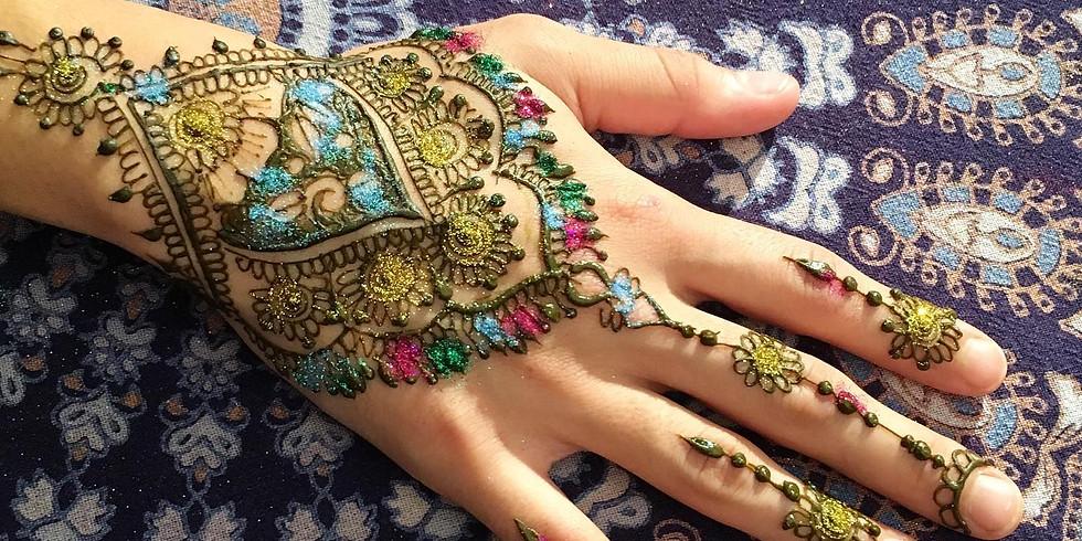 Henna at Holistic Bazaar