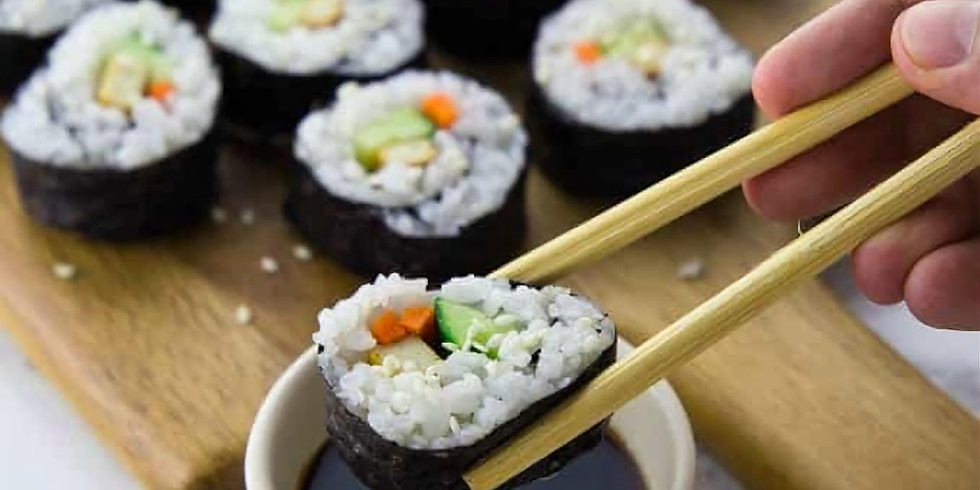 Yoga and Sushi Making workshop