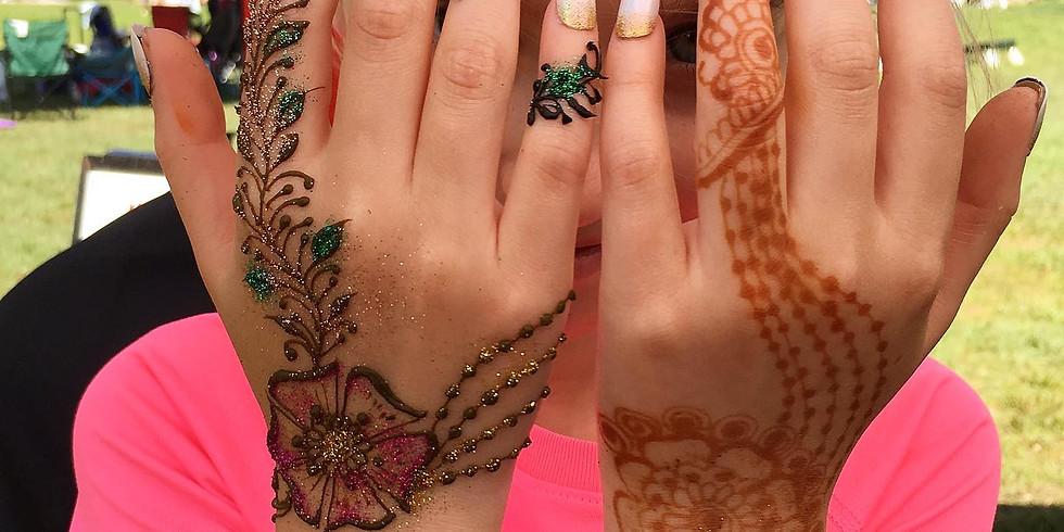 Henna at LV Mall (Health Expo)
