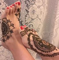 Vacation feet