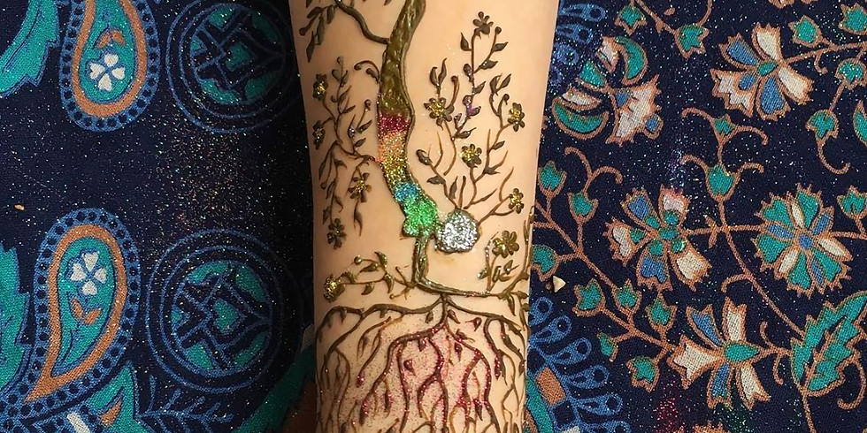 Henna at Yoga Festival