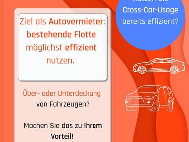 Fahrzeugflotte effizienter nutzen durch Cross-Car-Usage? So geht's!