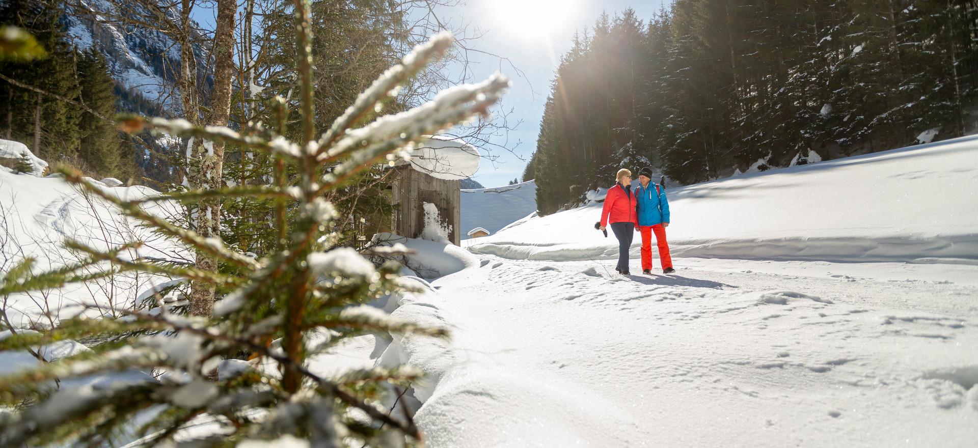 Winterwandern in der Naturpark- & Gletscherregion Kaunertal