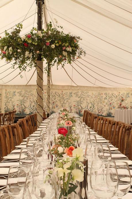 Marquee wedding in Hambleden