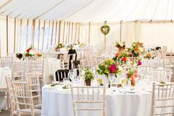 Marquee wedding Henley Park