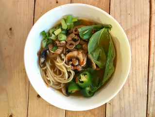 "30-Minute Vegan ""Pho"""