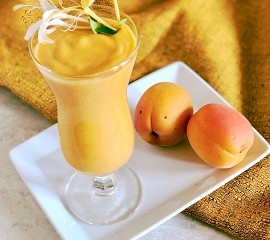 Vegan Probiotic Apricot Lassi