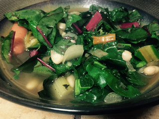 February Recipe: Cannellini & Kale Soup