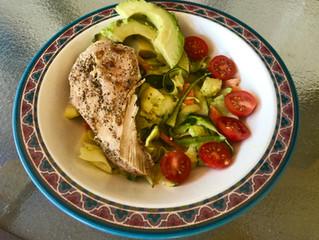 Recipe: Grilled Chicken & Zucchini Pasta in Lemon Tahini Sauce